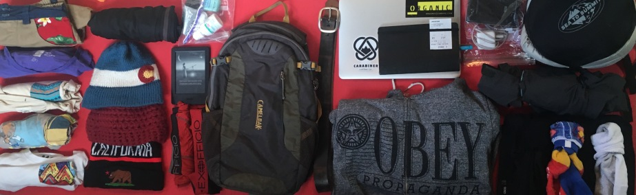 Digital Nomad's Packing List for a Carry-On Only Trip