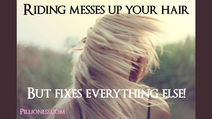 Mess your hair — Two Wheeled Life